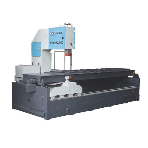 Scie à ruban / pour métaux / avec système de refroidissement / longitudinale CE 900H x 1000W x 2000L GY5390/200 Zhejiang Weiye Sawing Machine Co., Ltd