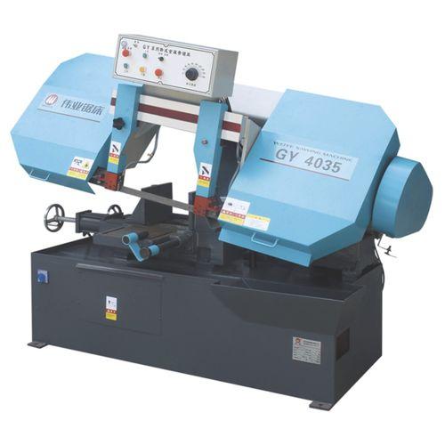 Scie à ruban / pour tuyaux / avec système de refroidissement / avec étau hydraulique CE 280Hx400W GY4035 Zhejiang Weiye Sawing Machine Co., Ltd