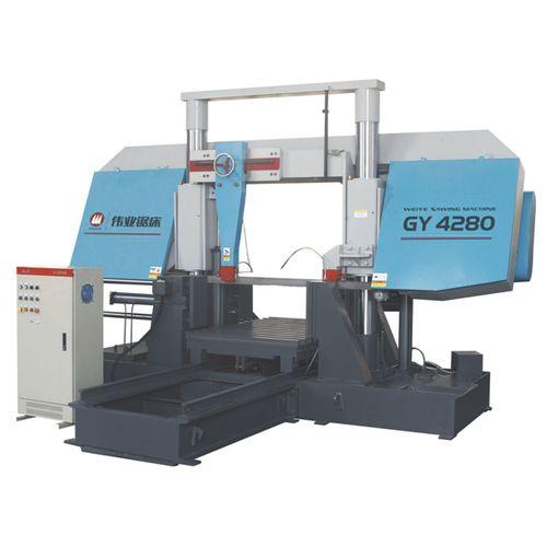 Scie à ruban / pour métaux / pour tuyaux / avec système de refroidissement CE 800Hx800W GY4280 Zhejiang Weiye Sawing Machine Co., Ltd