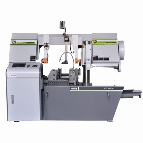 Machine à scier à ruban / pour métaux / automatique / à double colonne CE 320Hx320W WY320HA Zhejiang Weiye Sawing Machine Co., Ltd