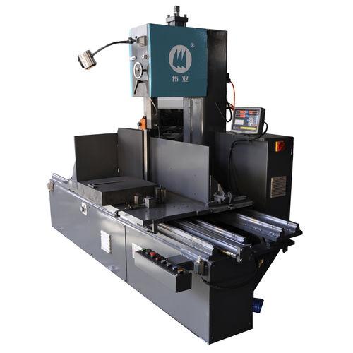 Scie à ruban / avec système de refroidissement / haute performance / longitudinale CE 700H x 600W x 1200L WY5170 Zhejiang Weiye Sawing Machine Co., Ltd