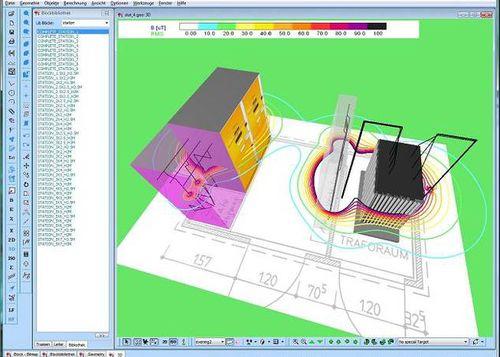 Logiciel de simulation de champ électromagnétique / 3D / 2D EFC-400 Narda Safety Test Solutions GmbH