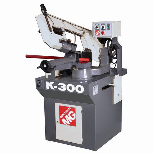 Scie à ruban / pour acier / avec système de refroidissement / CE K-300/2-M TRONZADORAS MG
