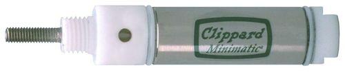 vérin pneumatique / double effet / pour l'industrie / résistant à la corrosion