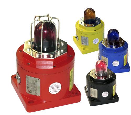 feu tournant / clignotant / à éclats / à LED
