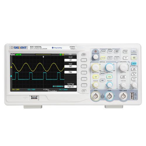 oscilloscope numérique / sur table / 2 voies / avec afficheur LCD