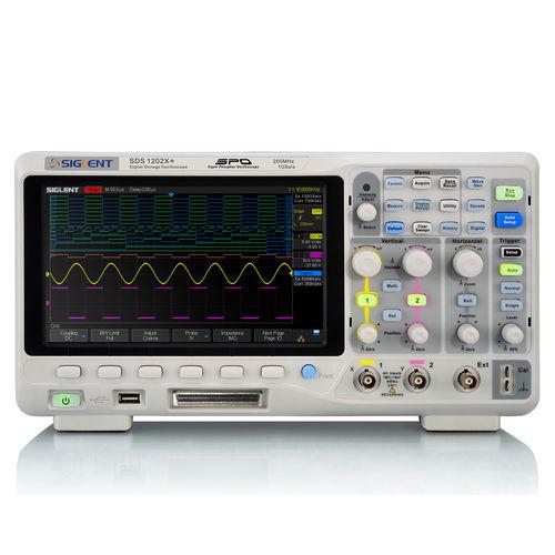 oscilloscope numérique / sur table / 2 voies / multivoie