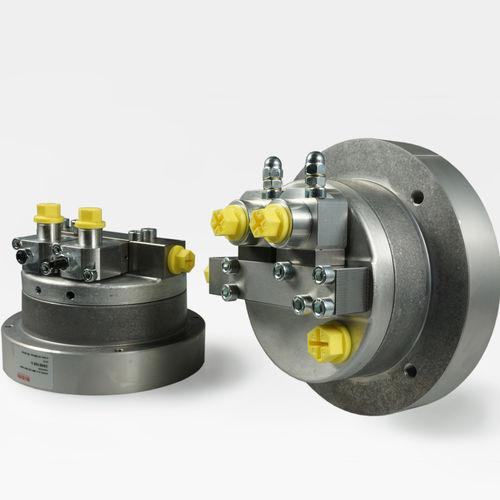 pompe hydraulique à piston radial / compacte / haute performance / bi-étagée