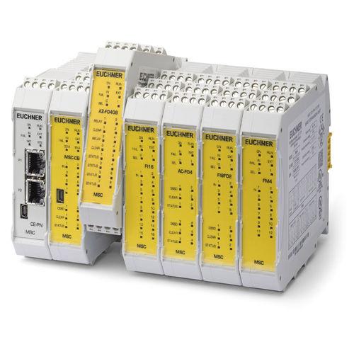 relais de sécurité / programmable / modulaire / multifonction