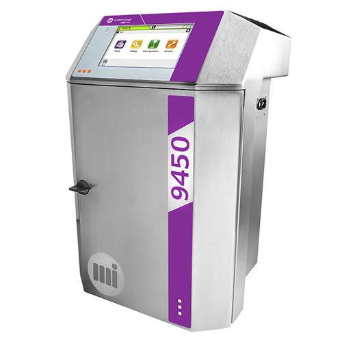 machine de marquage à petits caractères / à jet d'encre / benchtop / automatique