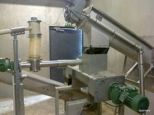 Mélangeur batch / de boue et de chaux / en acier inoxydable 24 m³/h | MBV series Sodimate