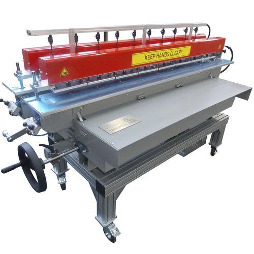 machine de soudage bout à bout / AC / manuelle / pour plastique