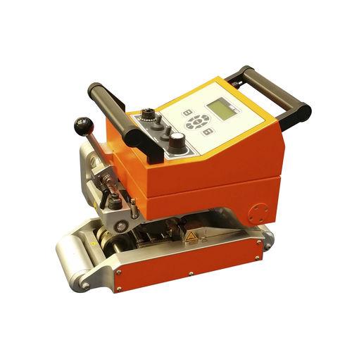 machine de soudage par coin chauffant / AC / semi-automatique / compacte