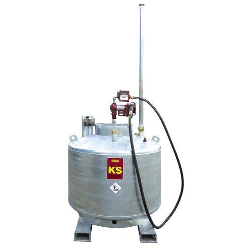 cuve essence / en métal / à double paroi / de transport