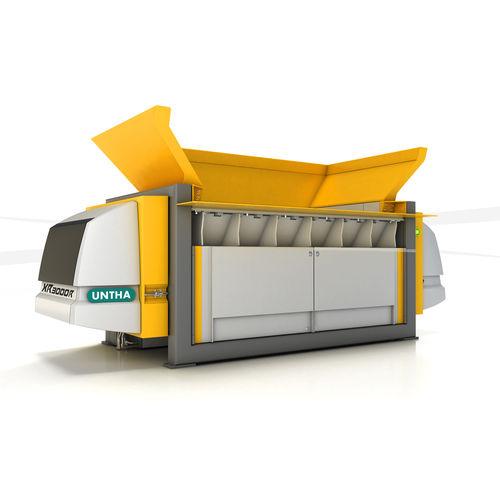 pré-broyeur déchets divers / de déchets / pour le bois / robuste