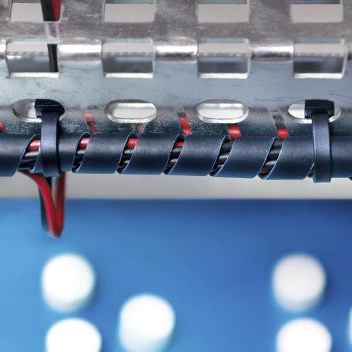 gaine de protection / spiralée / pour câbles / en polypropylène