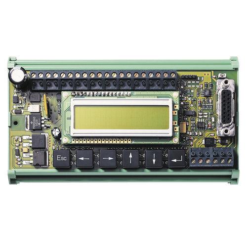 interface opérateur avec clavier / encastrable / machine