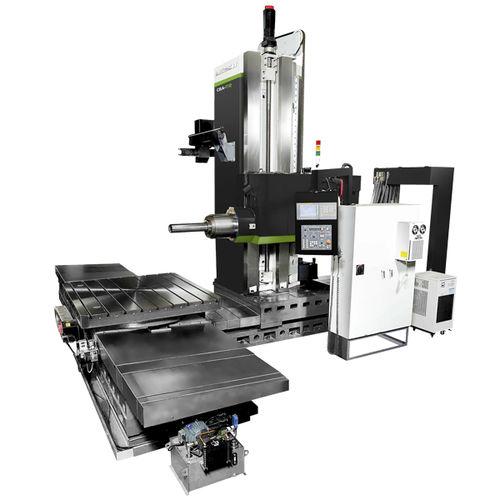 centre d'alésage-fraisage CNC / horizontal / pour pièce de grande dimension / à table tournante