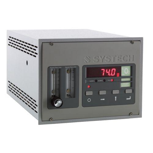 analyseur d'oxygène / de gaz / de concentration / benchtop