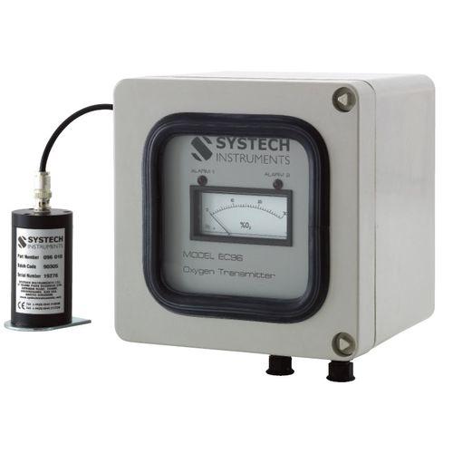 Transmetteur de gaz pour oxygène / électrochimique / multiusage / pour l'air ambiant EC96 Systech Illinois