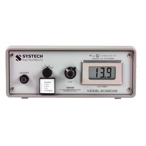 analyseur d'oxygène / de gaz / de concentration / portable