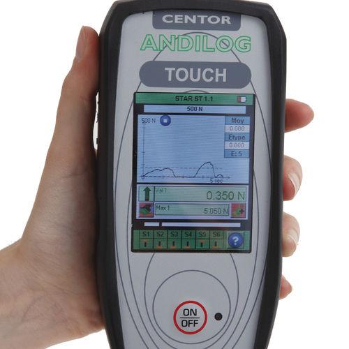 dynamomètre numérique / portable / traction compression / robuste