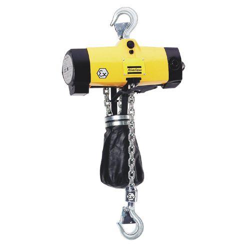 Palan à chaîne pneumatique / avec chariot max. 1000 kg | LLA1000 EX Atlas Copco Industrial Technique