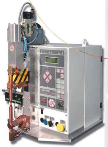 machine de soudage par points / AC / semi-automatique / d'établi