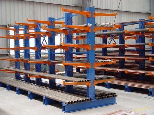 Rayonnage cantilever / pour charges lourdes / pour charges longues / mi-lourd ISO9001, ISO14001 | UN-CR0802 Jiangsu Union Logistics System Engineering Co.,Ltd