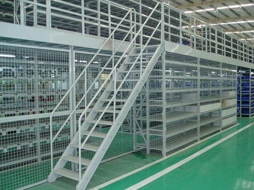 rayonnage entrepôt de stockage / pour charges lourdes / pour archives / avec mezzanine