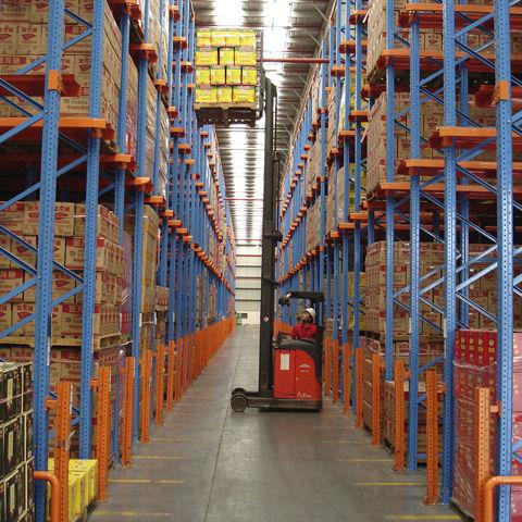 Rayonnage entrepôt de stockage / pour charges lourdes / palette drive-in drive-through ISO9001, ISO14001 | UN-DR0804 Jiangsu Union Logistics System Engineering Co.,Ltd