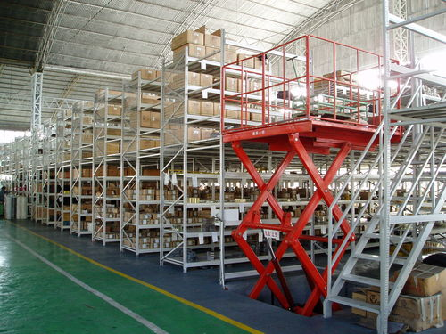 Mezzanine industrielle pour palettes ISO9001, ISO14001 | UN-MR0804 Jiangsu Union Logistics System Engineering Co.,Ltd