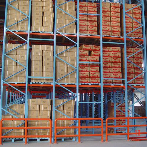 Rayonnage à palette / pour charges lourdes / pour boîtes ISO9001, ISO14001 | UN-DR0806 Jiangsu Union Logistics System Engineering Co.,Ltd