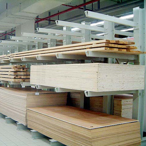 Rayonnage cantilever / pour charges longues / mi-lourd / en acier ISO9001, ISO14001 | UN-CR0807 Jiangsu Union Logistics System Engineering Co.,Ltd