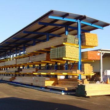 Rayonnage entrepôt de stockage / cantilever / pour charges lourdes / pour charges longues ISO9001, ISO14001 | UN-CR0808 Jiangsu Union Logistics System Engineering Co.,Ltd