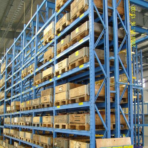 Système de rack à palette / pour charges lourdes / réglable ISO9001, ISO14001 | UN-PR0813 Jiangsu Union Logistics System Engineering Co.,Ltd