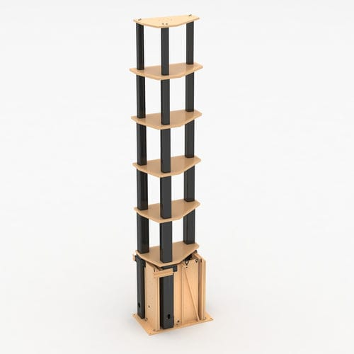 mât de levage vertical / télescopique