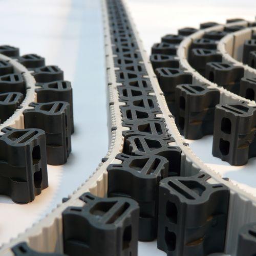Actionneur à chaîne rigide / linéaire / électrique / amagnétique RigiBelt SERAPID
