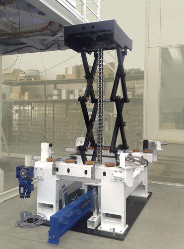 table élévatrice à ciseaux / électrique / stationnaire / haute performance