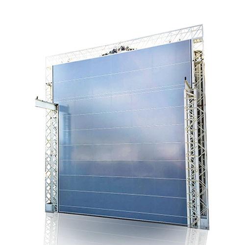 porte pour pont roulant / à empilement / en acier / en tissu