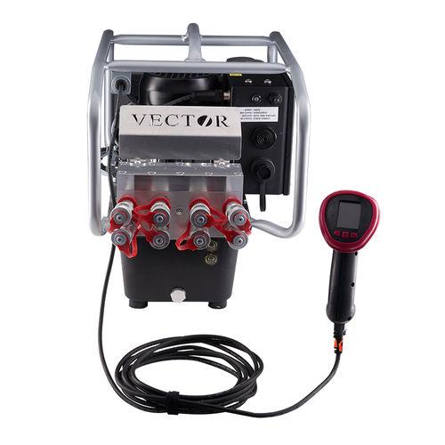 pompe hydraulique à piston / électrique / tri-étagée