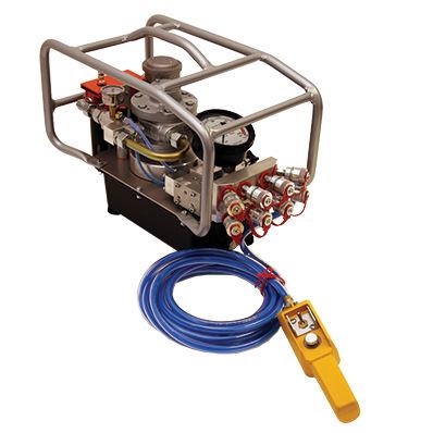 pompe hydraulique à trois étages / semi-automatique