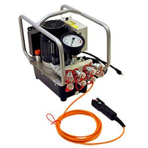 pompe hydraulique électrique / tri-étagée