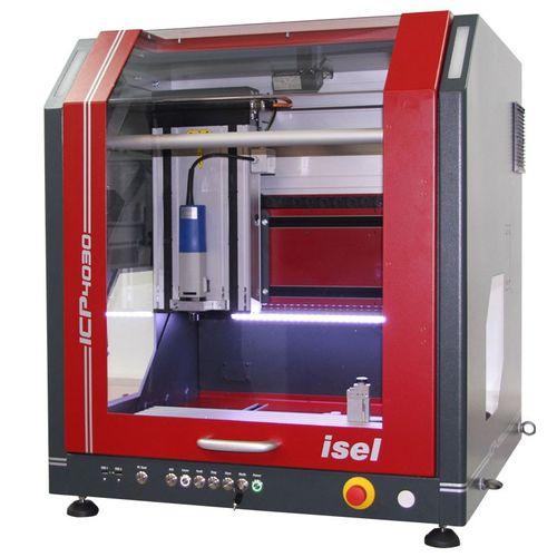 fraiseuse CNC 3 axes / verticale / compacte / de haute précision