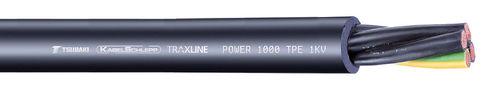 câble électrique d'alimentation / isolé / résistant à l'huile / résistant à l'abrasion