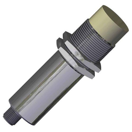 capteur de proximité capacitif / cylindrique M30 / IP67 / en acier inoxydable