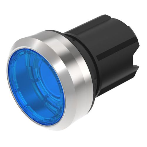 bouton poussoir lumineux / action momentanée / rond / IP67