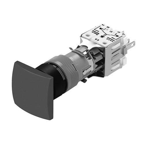 bouton poussoir coup de poing / multipolaire / rectangulaire / sans garde