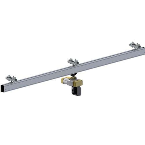 pont roulant monorail / en aluminium / à hauteur perdue