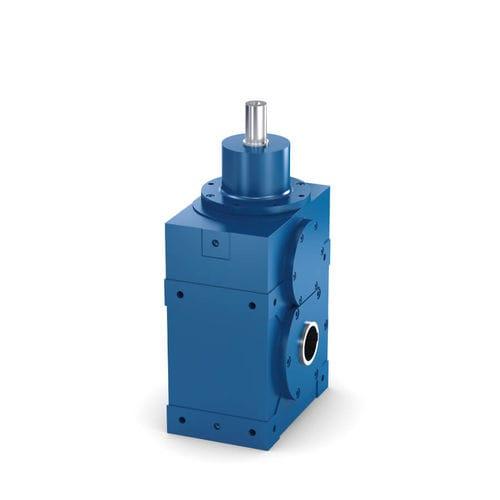 réducteur à couple spiroconique / à engrenage hélicoïdal / de précision / pour réducteur